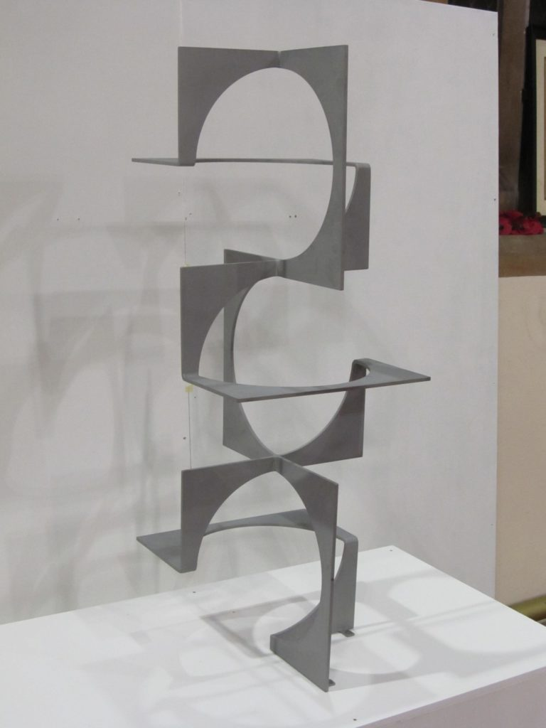 Abstract sculpture by Pete Moorhouse