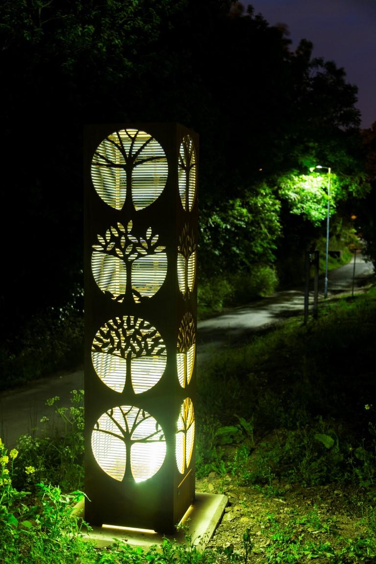 Corten Steel sculpture by Pete Moorhouse